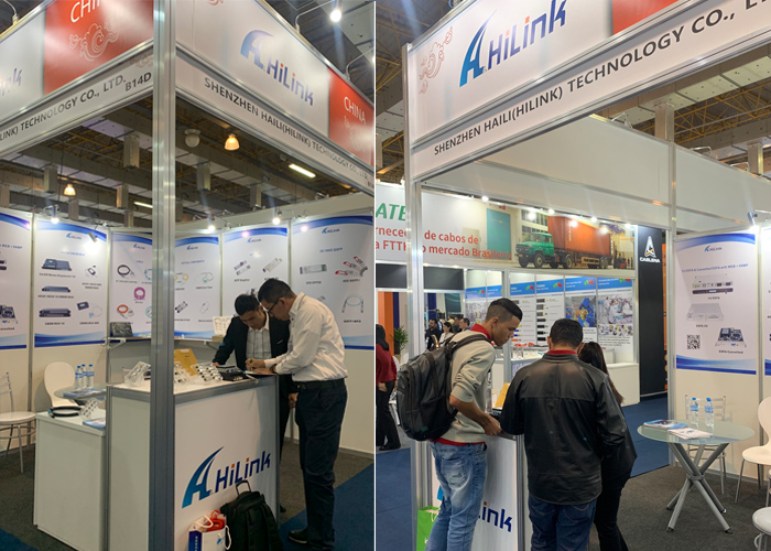 Hilink showcases the 5G technological achievement at NETCOM Exhibition