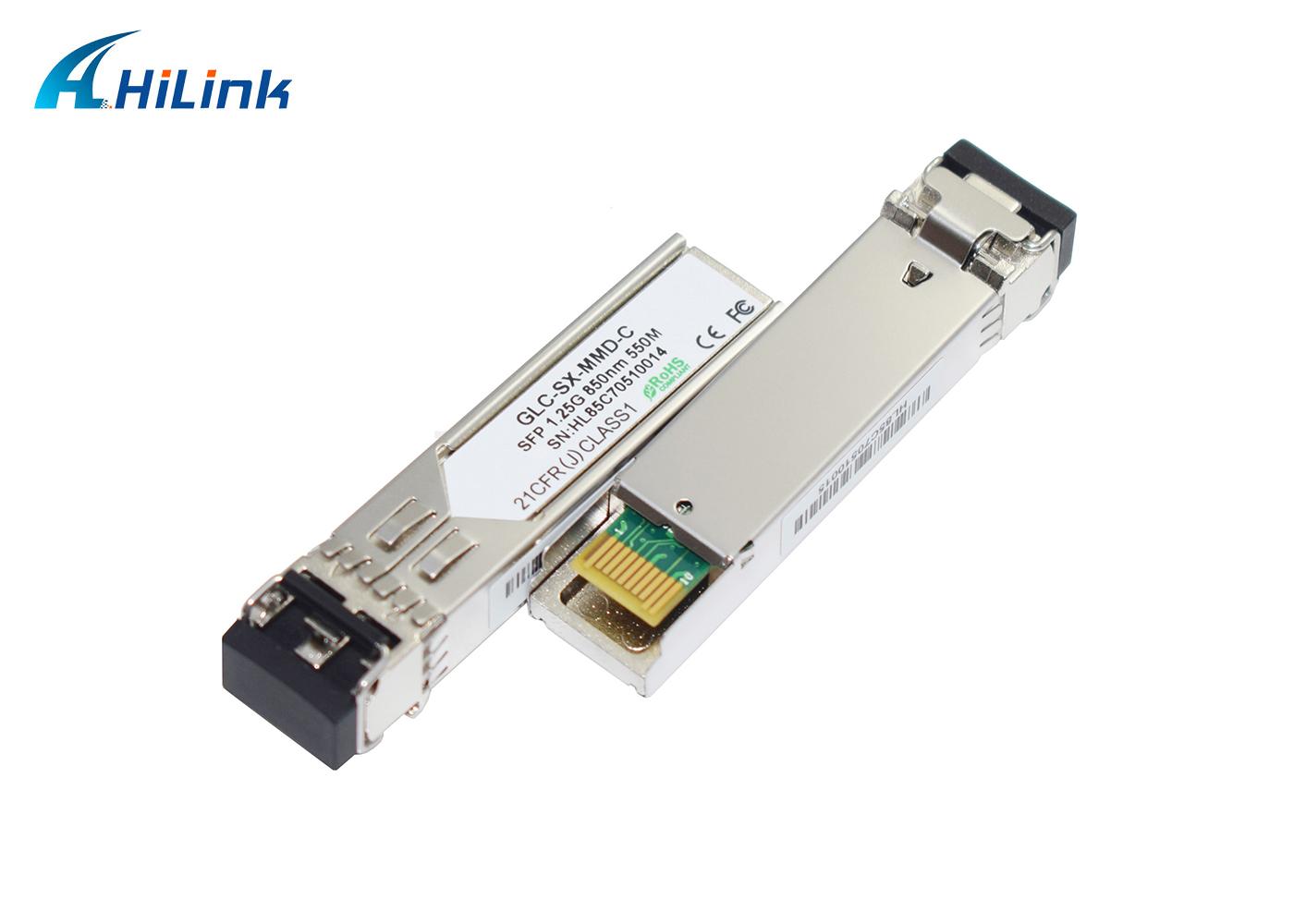 1.25G 850nm 550m SX SFP