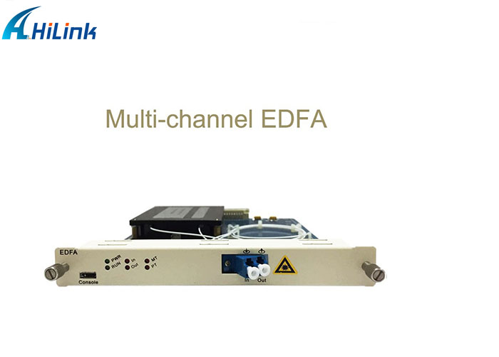 Multi-channel Erbium doped fiber amplifier