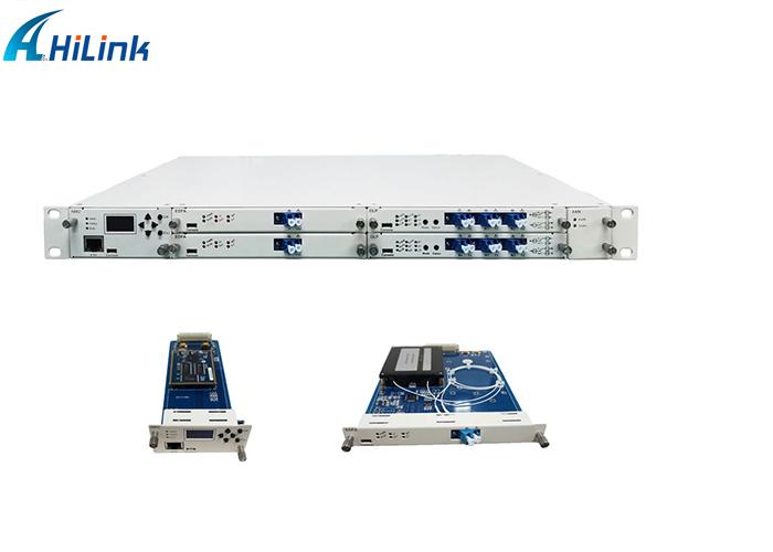 1U Rack Mount 100g Erbium doped fiber amplifier card